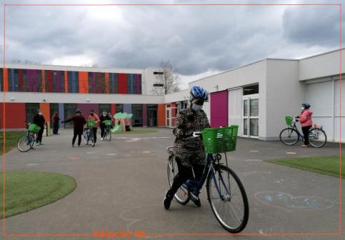 Une vélo-école associative aux Couronneries