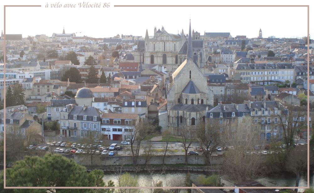 A vélo à Poitiers avec Vélocité.86