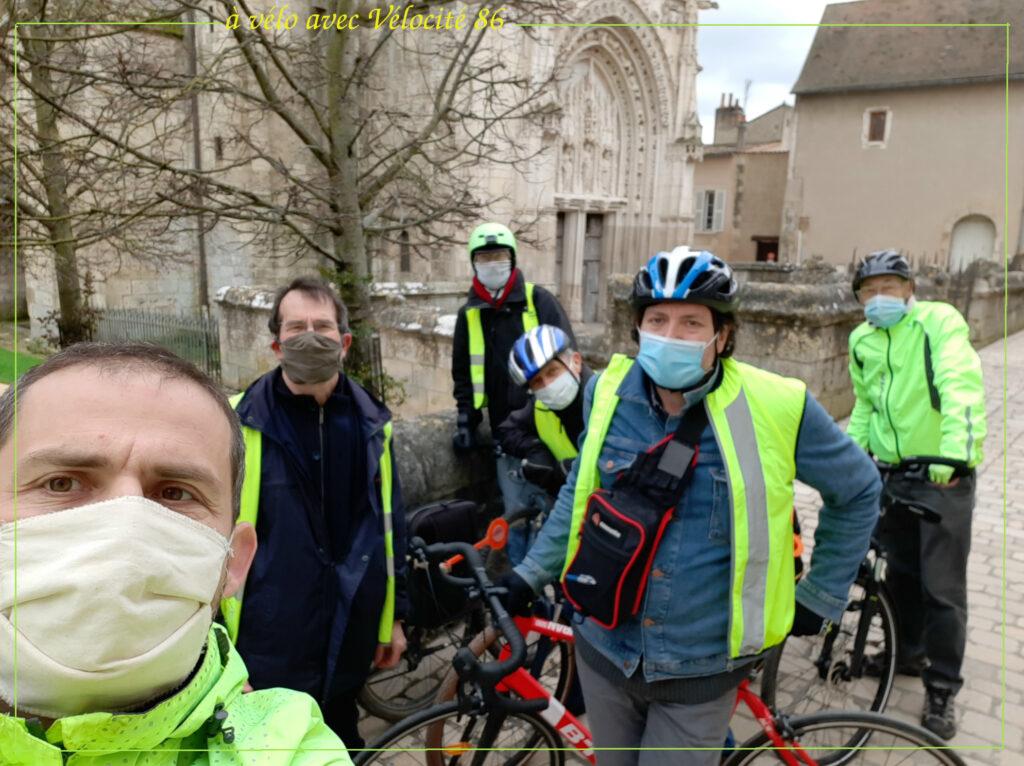 Le groupe système vélo de Vélocité 86 diagnostique les situations rencontrées sur le terrain
